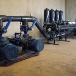 Central de bombagem, filtragem e fertirrigação (Roliça)