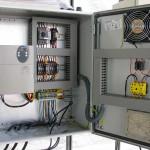 Comando para duas electrobombas com variador (Montijo)