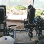 Electrobombas e filtros para rega em estufas (Montijo)