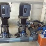 Electrobombas com variadores incorporados para 80 m3/ h (Montijo)
