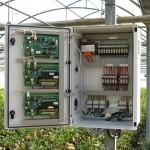 Quadro periférico para climatização em estufas (Montijo)