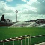 Rega de aspersão para campo de futebol (Torres Vedras)