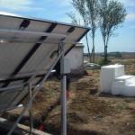 Sistema solar para bombagem de água (Redondo)